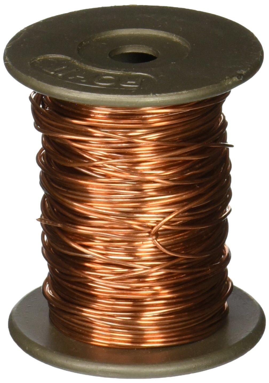 United Scientific WBC020-4oz Soft Bare Copper Wire, 4oz Spools, 20 ...