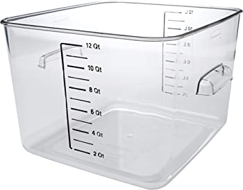 Rubbermaid Commercial Carb-X 12-Quart Food Storage Container