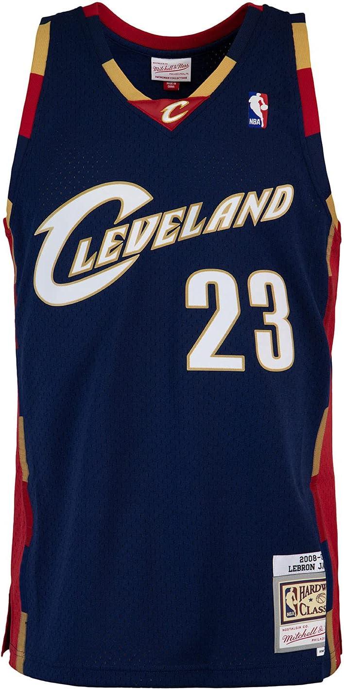 Mitchell & Ness Swingman Lebron James Cleveland Cavaliers 08/09 - Camiseta