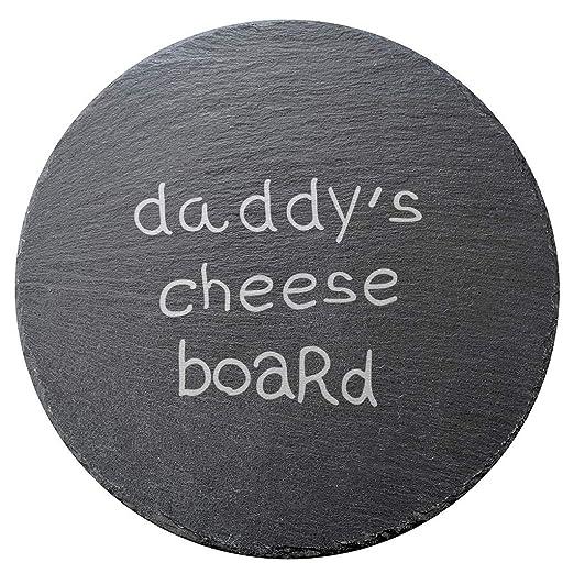 Pizarra de queso de pizarra de Daddy para regalos de hija e ...