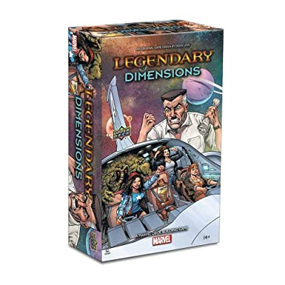 Legendary: A Marvel Deck Building Game: Dimensions Expansion: Toys & Games