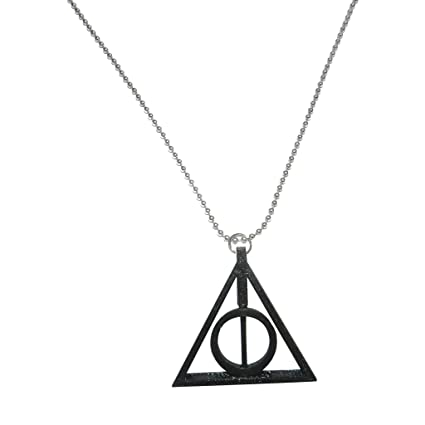 Buy Tesseract Harry Potter Deathly Hallows Logo Keyrings   Keychains  (Black) Online at Low Prices in India - Amazon.in c97f02e99