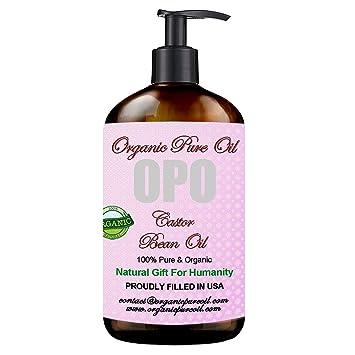 Amazon.com: Aceite puro de ricino – 100 % puro, orgánico ...