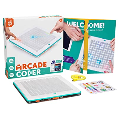 Tech Will Save Us Arcade Coder | Educational Games Console, Ages 6-12 and up: Toys & Games