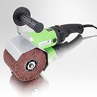 BITUXX® Satiniermaschine Schleifmaschine Poliermaschine Schleifer Bürstenmaschine 1200 Watt 1000-3000U/min