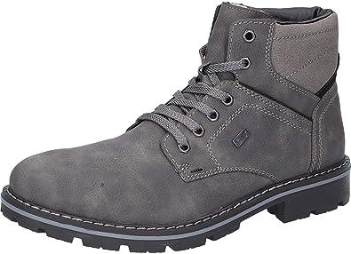 run shoes good out x big sale Amazon.com | Rieker Herren-Stiefel grau (9), Grösse 46 ...