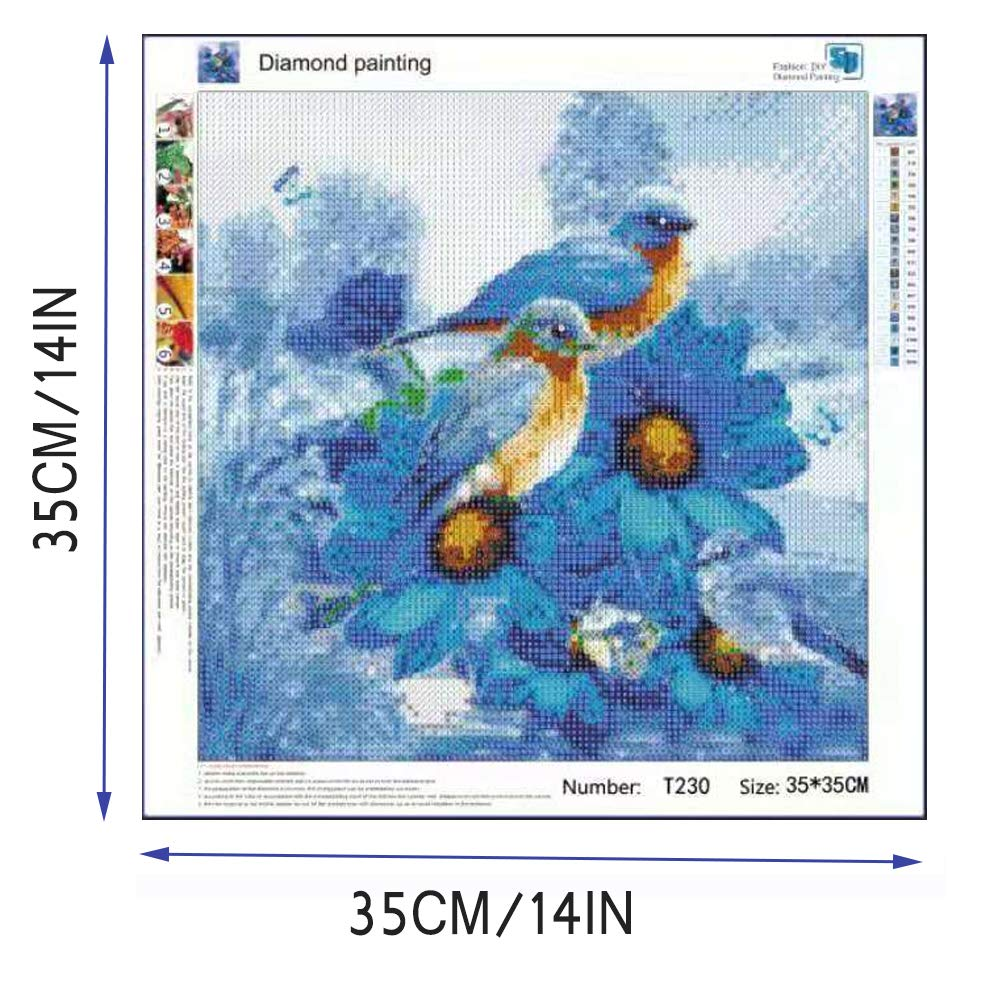 DIY 5D Diamond Painting Full Dril Crystal Rhinestone Full Diamond Embroidery Pictures Arts Craft for Home Wall Decor