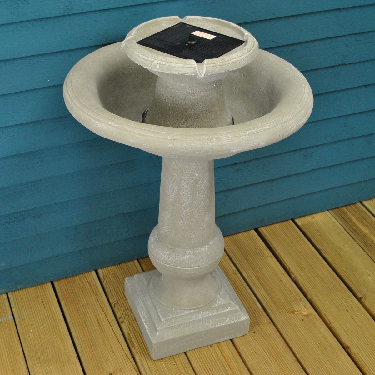 Chatsworth Fountain Outdoor Water Feature (Solar) by Smart Solar