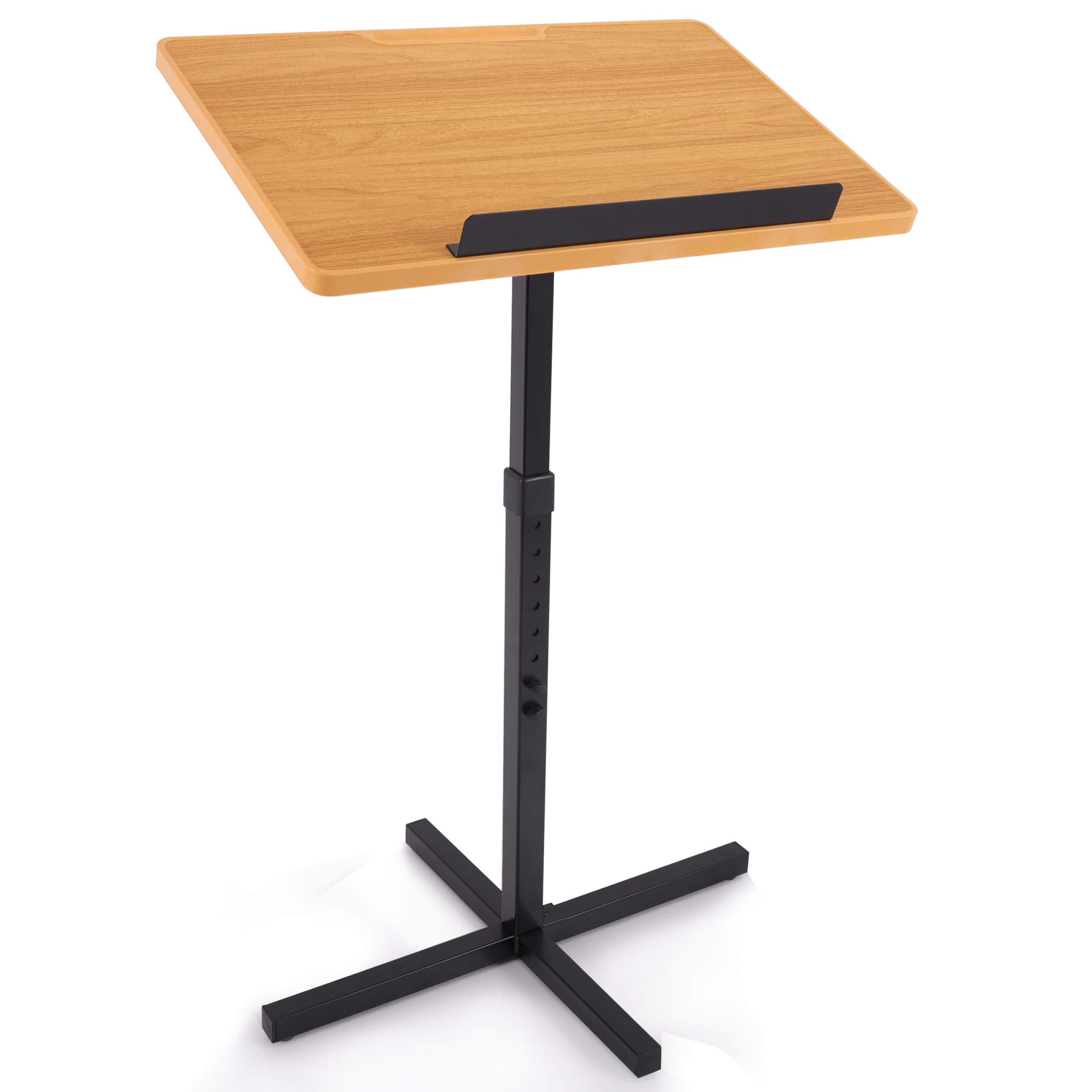 Portable Floor Lectern Podium Stand Height Adjustable Steady
