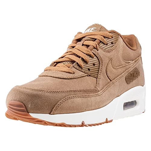 reputable site e9e13 755bf Nike Air Max 90 Ultra 2. 0 LTR Flax/Flax-Sail-Gum Medium Brown (13 D(M)  US): Buy Online at Low Prices in India - Amazon.in