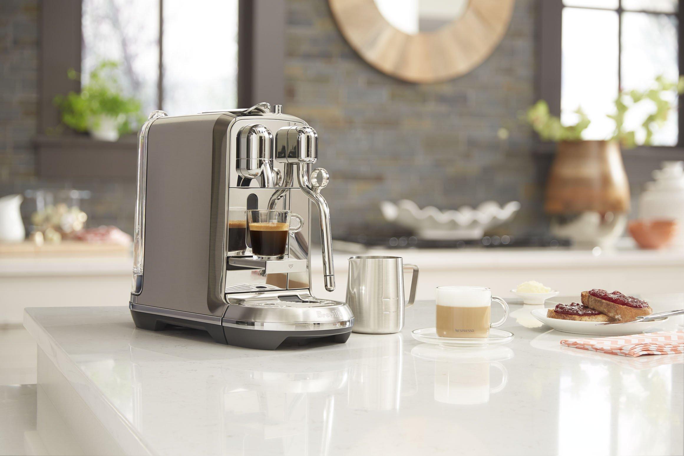Breville BNE800BSS Nespresso Creatista Plus, Stainless Steel by Breville