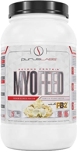 Purus Labs MyoFeed, Vanilla Peanut Butter, 1.9 Pound