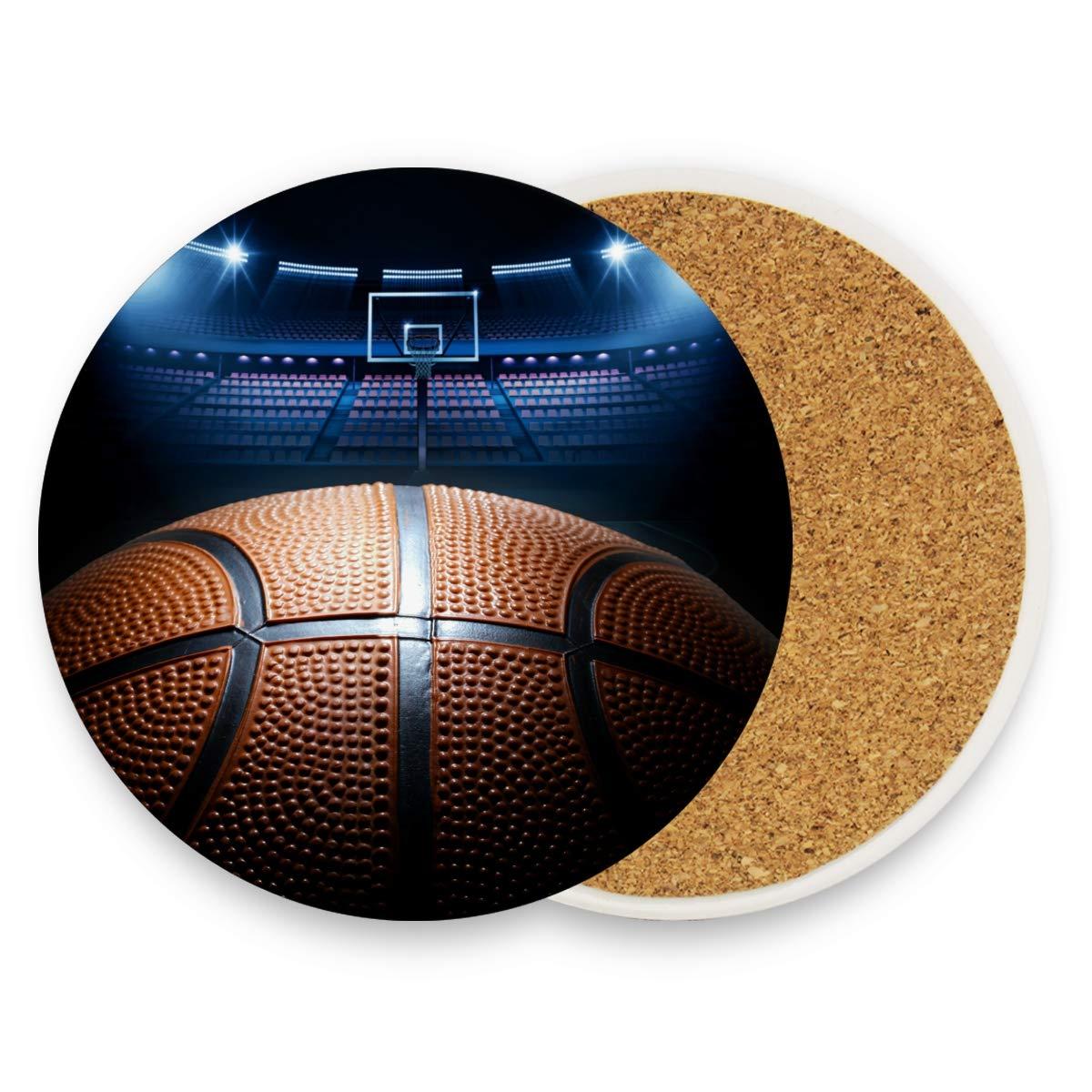 Montoj NBA - Posavasos absorbentes para bebidas, diseño de ...