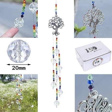 Kristall regenbogen anhänger kronleuchter prisma halskette schmuck geschenk