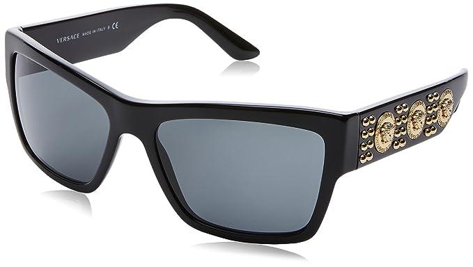 Versace 0Ve4289 Gafas de sol, Black, 58 para Hombre: Amazon ...