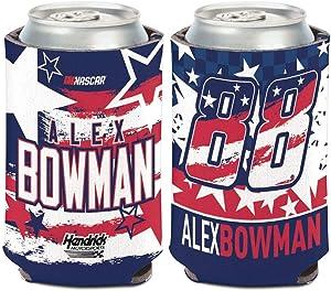 WinCraft NASCAR Hendrick Motorsports Alex Bowman NASCAR Alex Bowman Patriotic #88 12 oz. Can Cooler, Multi, na