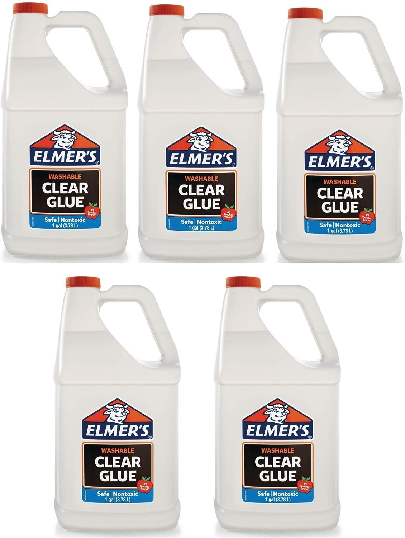 Elmers pegamento líquido para la escuela, transparente, lavable, 1 ...