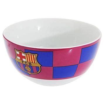 Oficial FC BARCELONA cerámica descubre cereal de desayuno Tazón: Amazon.es: Deportes y aire libre