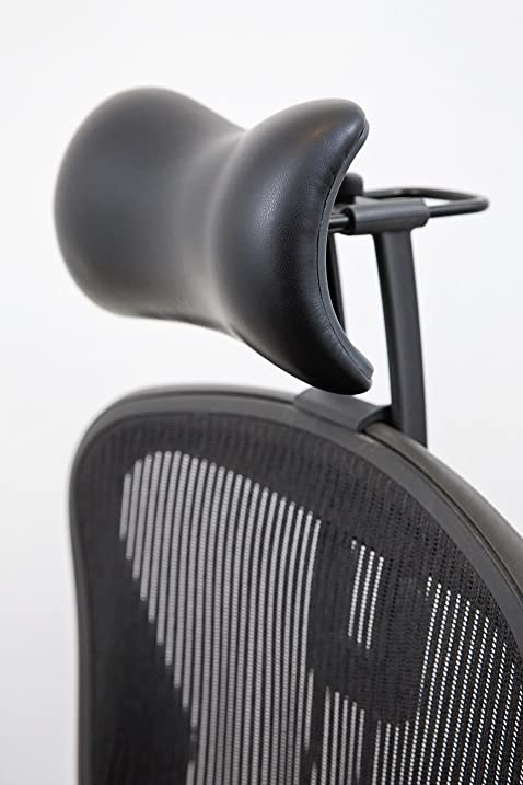 Amazing Atlas Headrest For Herman Miller Aeron Chair (Synthetic Leather)