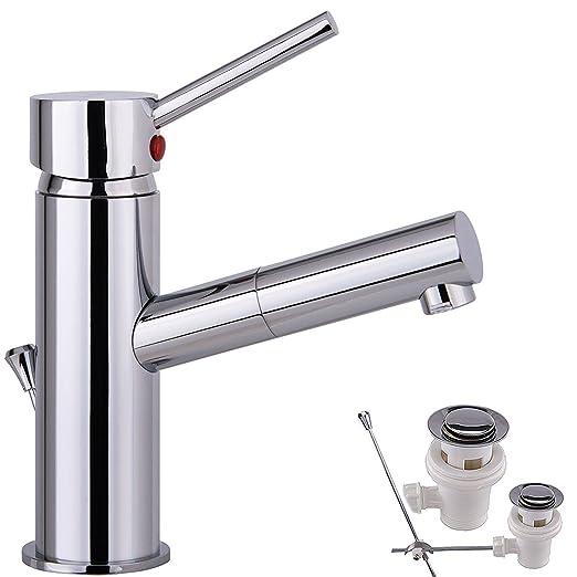 Wasserhahn Badezimmer Chrome Bad Armatur Waschtisch Armatur Mit