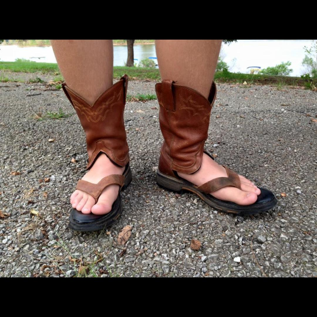 You Can Now Buy Cowboy Boot Sandals