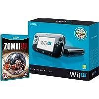 Nintendo Wii U Premium Pack + ZombiU Negro 32 GB Wifi - Videoconsolas (Wii U, Negro, IBM PowerPC, AMD Radeon, 32 GB, SD,SDHC)