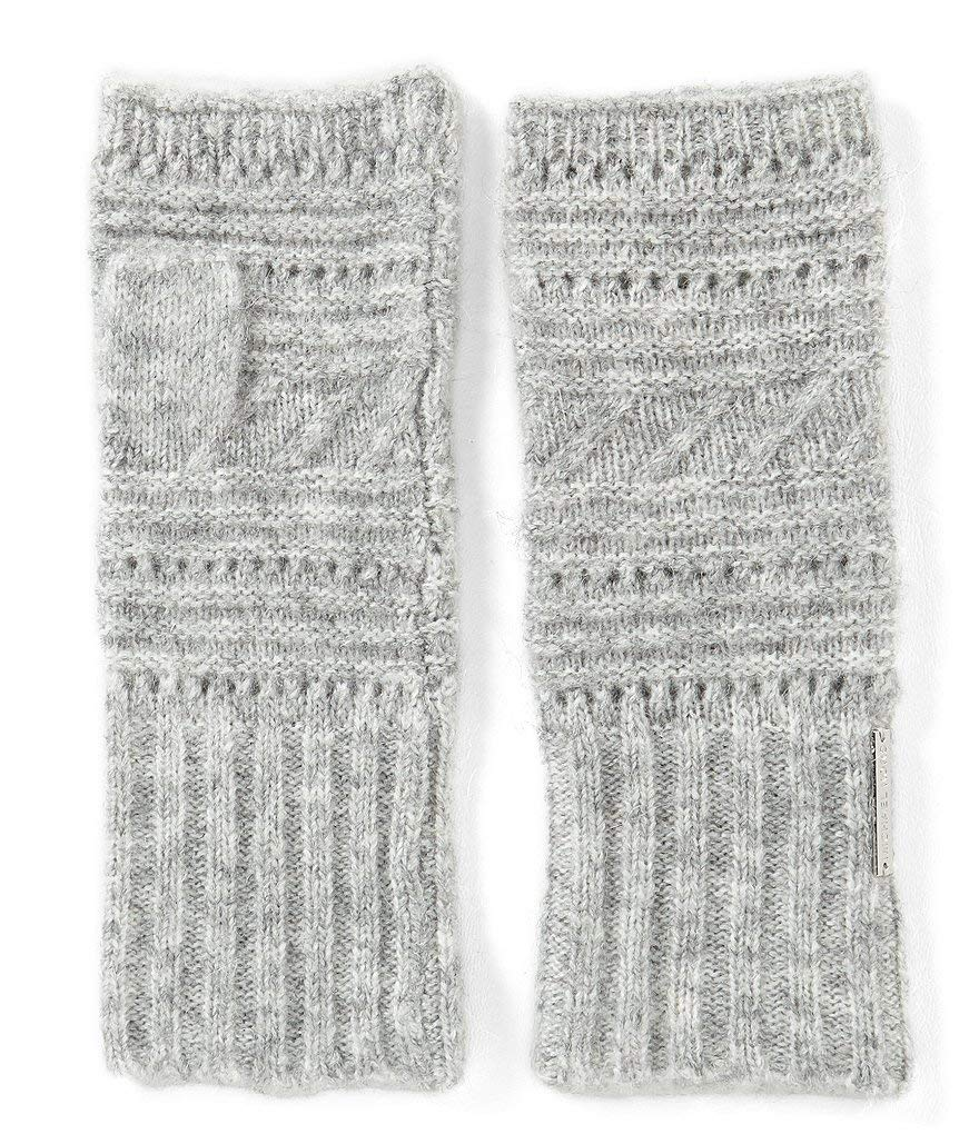 Michael Michael Kors Women`s Stitch Mix Arm Warmers (Grey(3795), One Size)