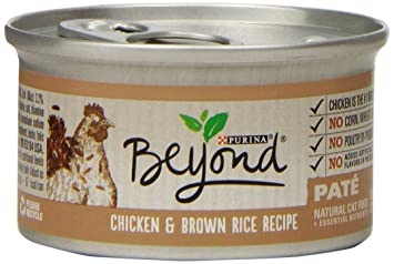 Amazon purina beyond natural canned cat food chicken and purina beyond natural canned cat food chicken and brown rice recipe 3 ounce forumfinder Choice Image