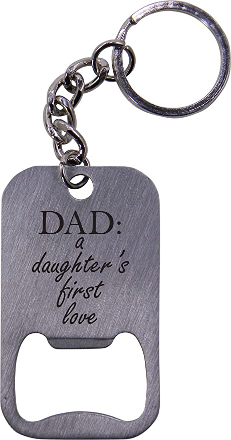 Amazoncom Dad A Daughters First Love Bottle Opener Key Chain