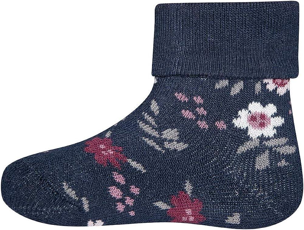Ewers 2er Pack THERMO Blumen Babysocken M/ädchen Innenfrottee Pl/üsch Baumwolle MADE IN EUROPE