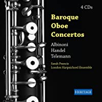 Baroque Oboe Concertos - Sarah Francis, London Harpsichord Ensemble (4CD)