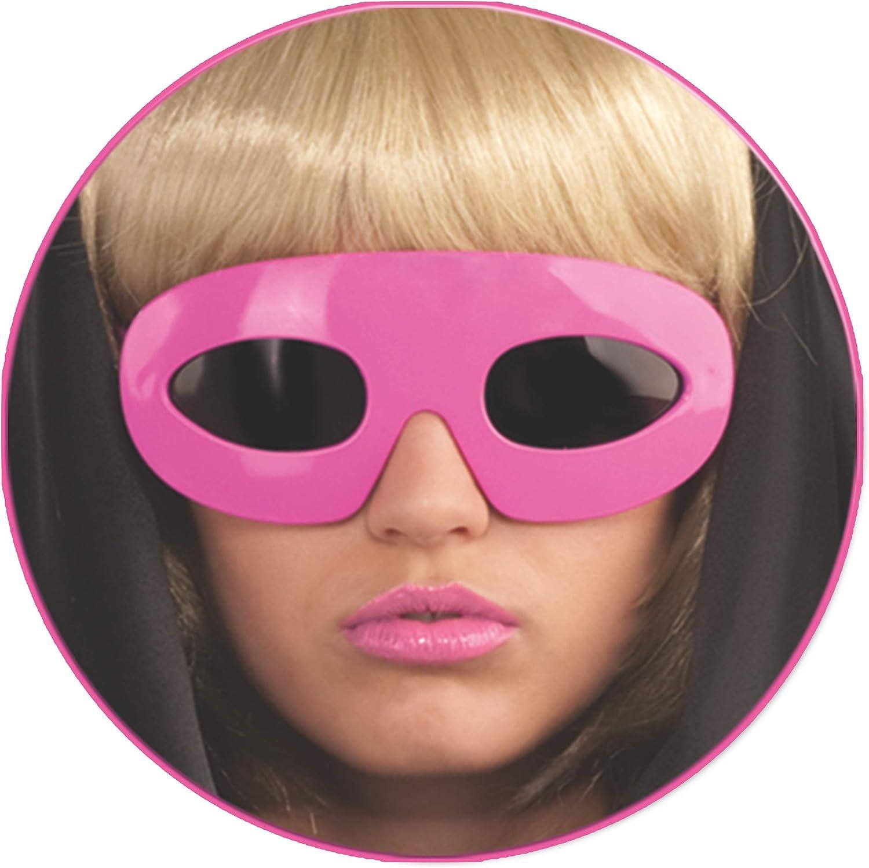 Pink Lady Gaga Glasses (accesorio de disfraz): Amazon.es: Juguetes ...