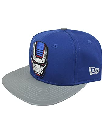 Amazon.com  New Era 9Fifty Avengers War Machine Snapback Cap (S-M ... 6a0555ae1d3f