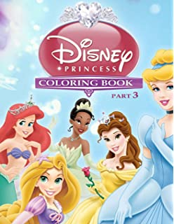 Buy Disney Princess Coloring Book Part 2: Awesome Book for Girls ...