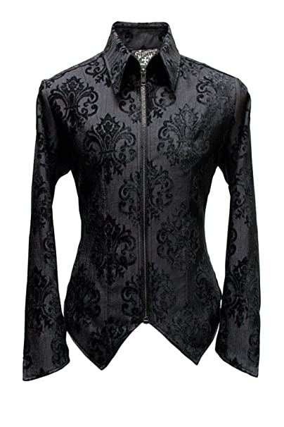 Amazon.com: Shrine - Chaqueta de terciopelo negro para ...
