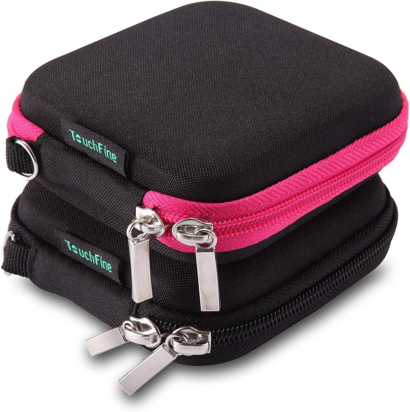 Storage Bag Hard Hold Case Earphone Headphone Earbuds Mp3 USB Cable Storage Box