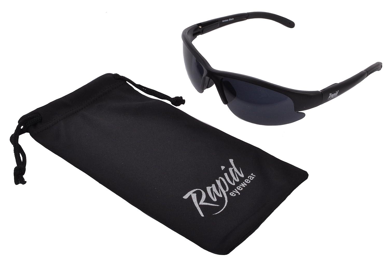 Rapid Eyewear Dunkel KATEGORIE 4 SONNENBRILLE für Extreme Sonne und Empfindliche Augen (Photophobie). Für Damen und Herren lC196VTt