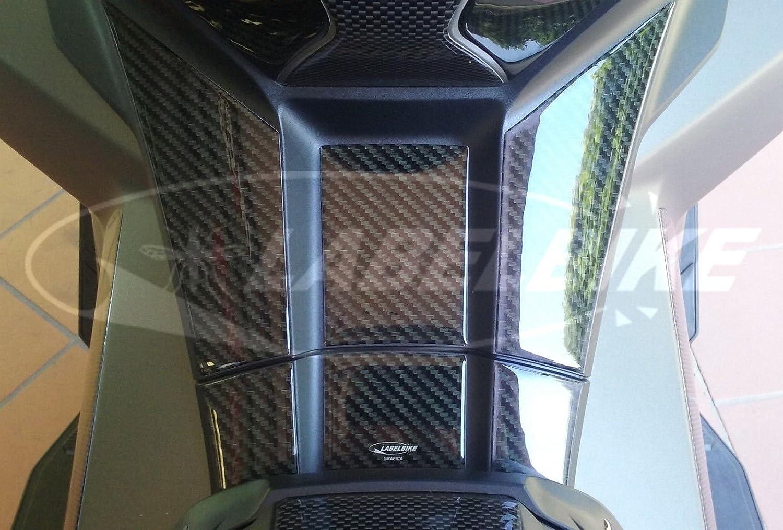 Adh/ésif Gel 3d R/ésine Protection Repose-Pied Compatible avec Xadv Honda X-Adv 750