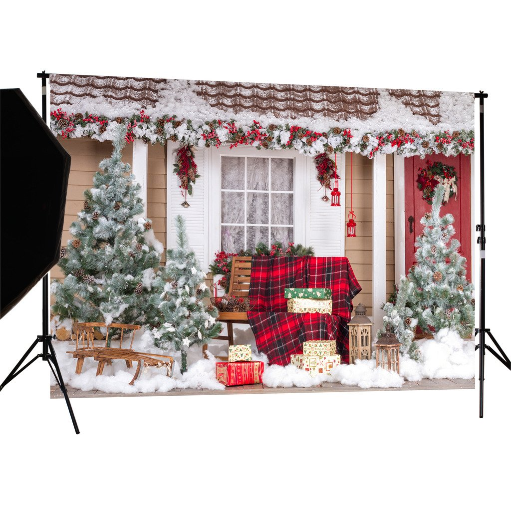 DULUDA 7X5FT Christmas Theme Pictorial cloth Customized photography Backdrop Background studio prop WXL43
