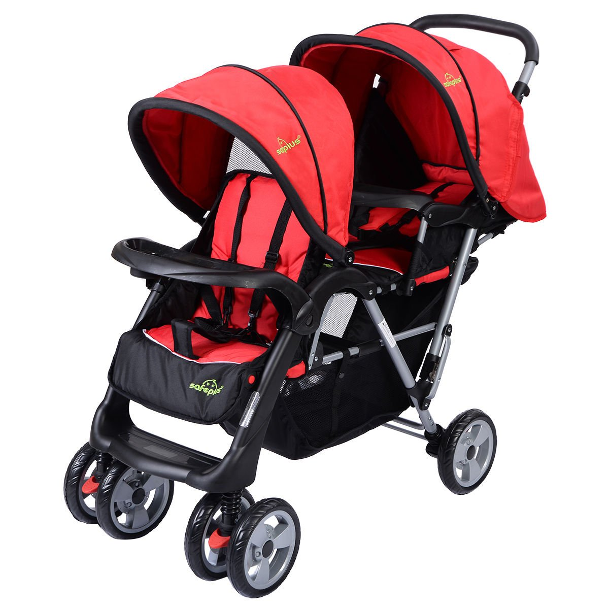 Amazon.com: Plegable individual Baby carriola de bebé doble ...
