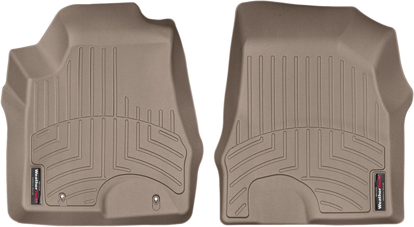 Non-Hybrid 450142 Tan WeatherTech Custom Fit Rear FloorLiner for Lexus RX330