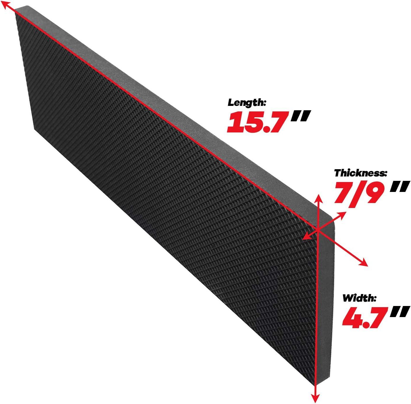Car Door /& Bumper Guards 15.7 x 4.7 7//9 Thick 5X Garage Wall Protectors Self Adhesive Foam Wall Padding