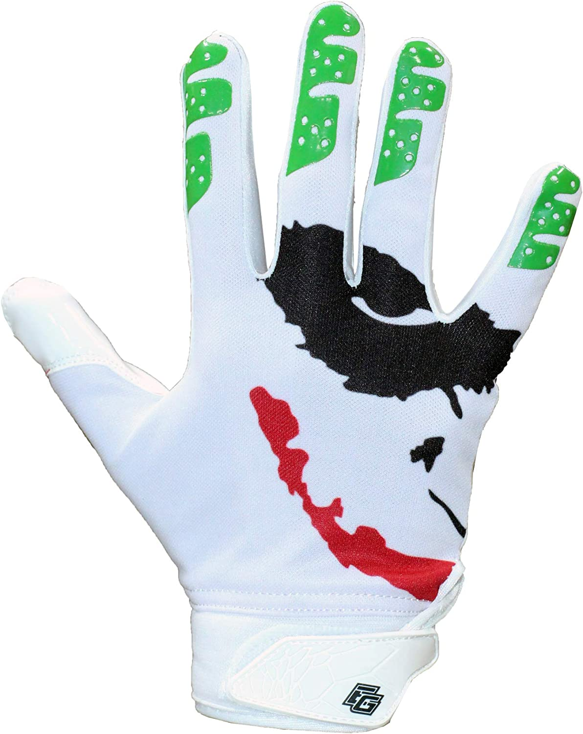 Repster Football Gloves Tacky Grip Skin Tight Adult Football Gloves Jester Pro Elite Super Sticky Receiver Football Gloves Enhanced Performance Football Gloves Men Adult Sizes