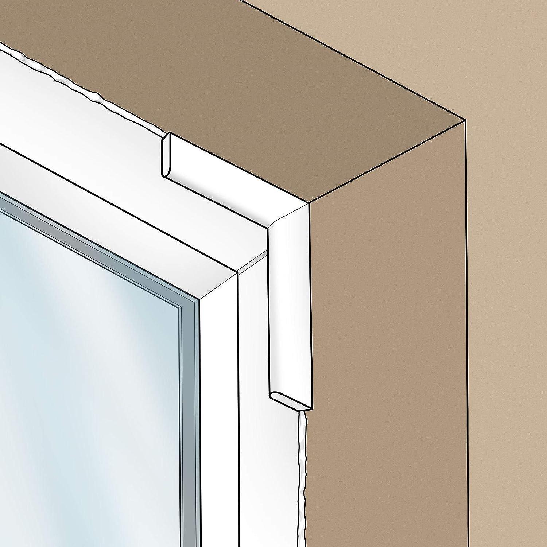 Anthracite Grey 20mm x 5m Cloaking Fillet uPVC Plastic Window Door Architrave Trim Smooth