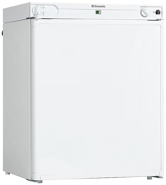 Dometic CombiCool RF62, freistehender Absorber-Kühlschrank, mit Gefrierfach, 54 Liter, Gas-Anschluss 50 mbar, 12 V und 230 V,