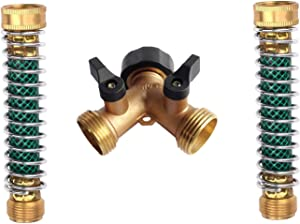 Sweepstakes: MIUSUK All Metal Body Garden Hose Splitter Brass Twin Shut…