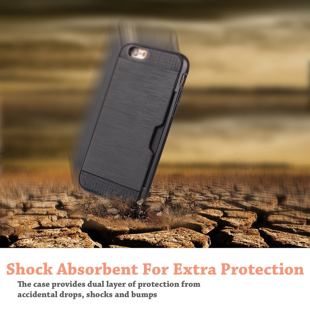 iPhone Cellularvilla Wallet Shockproof Protective Image 2