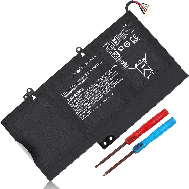 43Wh NP03XL TPN-Q147 760944-421 Battery for HP Envy X360 15-U010DX 15-U011DX 15-U110DX 15-U111DX 15-U483CL Pavilion X360 13-A010DX 13-A012DX 13-A317CL TPN-Q148 HSTNN-UB6L J8C75PA 760944-541