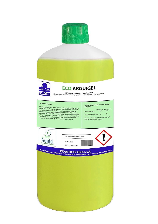 Arguigreen Line Detergente Lavavajillas Profesional Manual ...