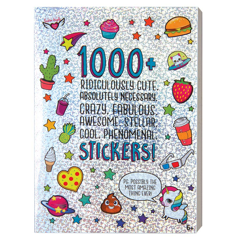 Fashion Angels 1000+ Ridiculously Cute Stickers/ 40 page Sticker Book